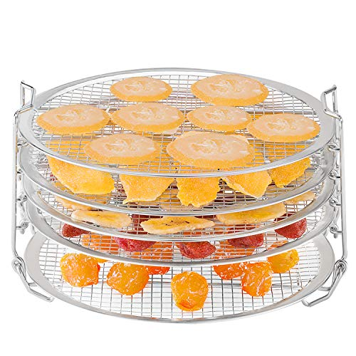 Lowest Prices! Dehydrator Stand for Ninja Foodi Accessories 6.5 qt 8 qt Stainless Steel Dehydrating ...