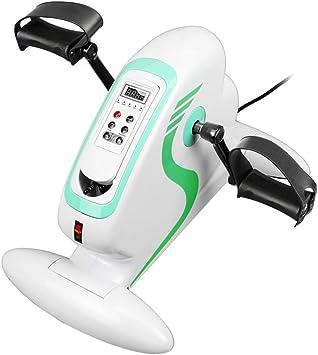 Pedalier de bicicleta de brazo y pierna en casa Ejercitador con pantalla LCD y motor eléctrico: Amazon.es: Salud y cuidado personal