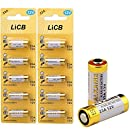 LiCB A23 12V Alkaline 23A Batteries (10-Pack)