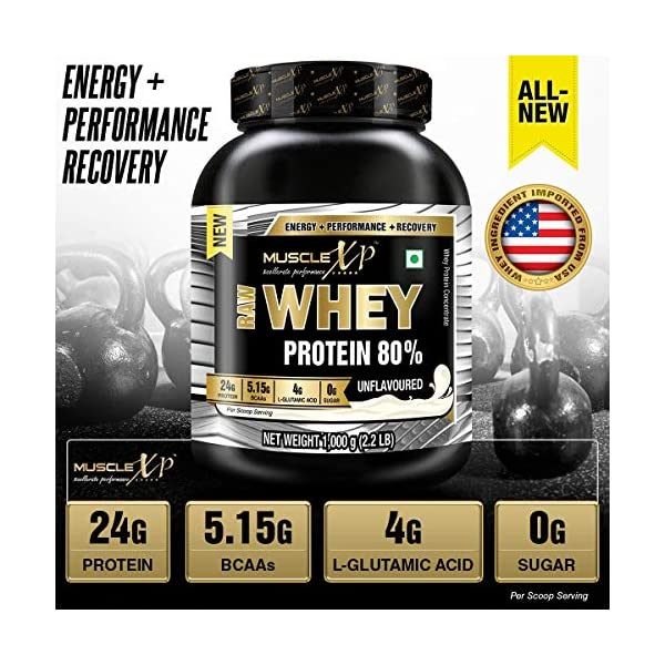 Best Unflavoured Raw Whey Protein india