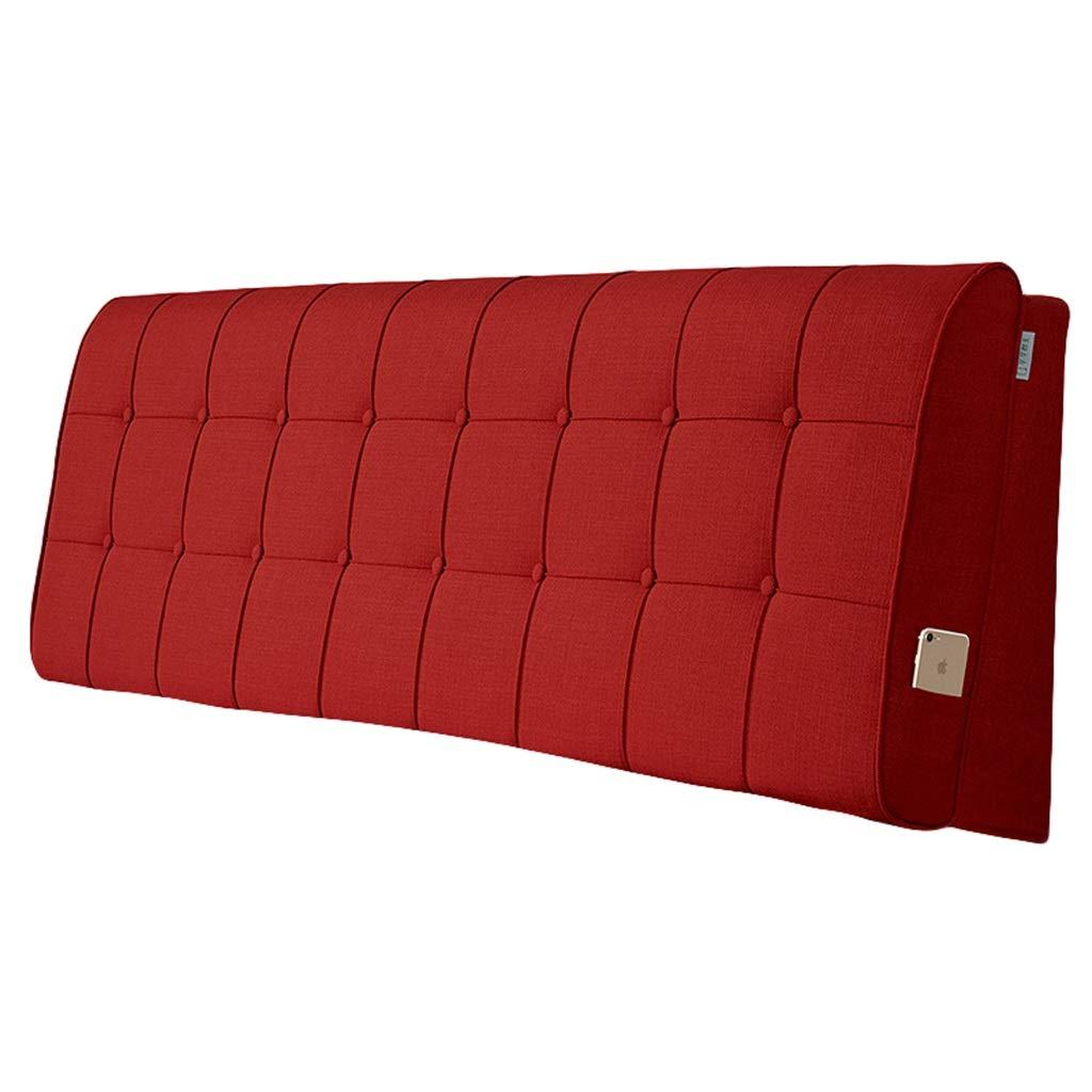 ヘッドボードクッションダブルベッド大背もたれ腰椎枕取り外し可能と洗える5サイズ、8色を選択できます (Color : 8, Size : 90x60cm) 90x60cm 8 B07SNQ8HR5