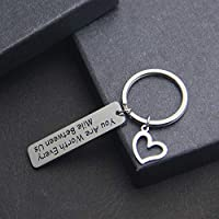 TOGON Anniversary Keychain Long Distance Relationship Gifts