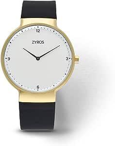 زايروس ساعة رسمية للرجال ، انالوج بعقارب - ZY533M010211