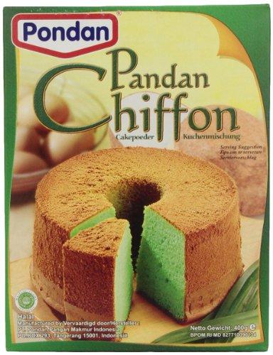 Chiffon Mix - Pondan Chiffon Cake Mix, 14-Ounce