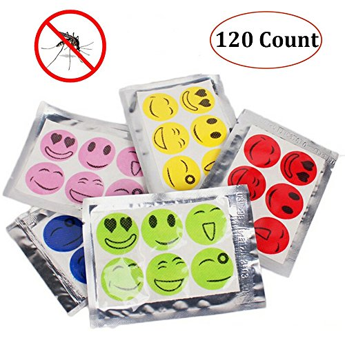 120 COUNT Mosquito Repellent Patches Anywhere