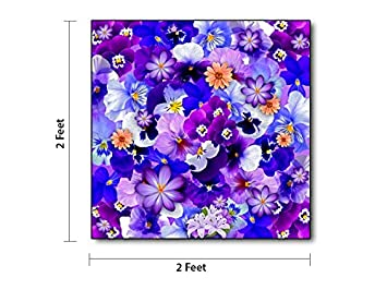 Lexy Flower Design Photo Printed Ceramic Wall And Floor