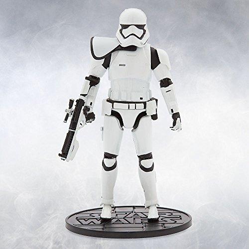 [Star Wars Squad Leader Stormtrooper Elite Series Die Cast Action Figure 6 1/2 Inch Star Wars: The Force] (Stormtrooper Disney)