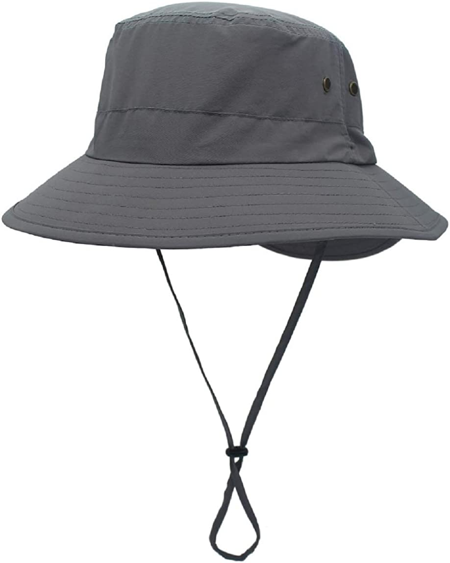 LLmoway Women Lightweight Safari Sun Hat Quick Dry Fishing Hat with Strap Cool