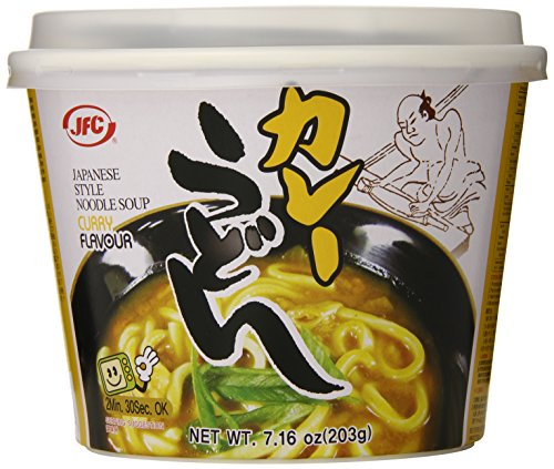 (JFC Curry Noodles, Udon, 7.16 Ounce)