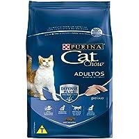 Ração Nestlé Purina Cat Chow para Gatos Adultos sabor Peixe - 10,1kg Purina para Todas Todos os tamanhos de raça Adulto - Sabor Outro