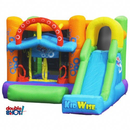 KidWise Double Shot Bouncer - Inflatable Bounce House