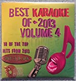 Best Of Karaoke 2013 Volume 4 CD+Graphics CDG 18 Pop & Country Tracks Maroon 5 Miley Cyrus Lorde Sara Bareilles Keith Urban Kelly Clarkson Rihanna Taylor Swift Ed Sheeran Pistol Annies Joe Nichols