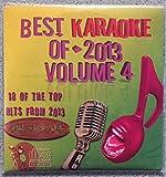 Best Of Karaoke 2013 Volume 4 CD+Graphics CDG 18 Pop & Country Tracks Maroon 5 Miley Cyrus Lorde Sara Bareilles Keith Urban Kelly Clarkson Rihanna Taylor Swift Ed Sheeran Pistol Annies Joe Nichols