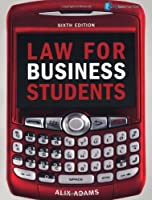 Law for Business Students, 6th Edition Front Cover