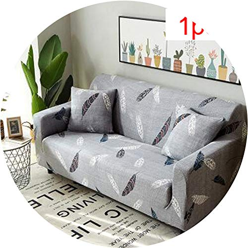Little Happiness- Slipcovers Sofa Tight wrap All-Inclusive Slip-Resistant sectional Elastic Full Sofa Cover/Towel Single/Two/Three/Four-Seater,9,Single seat Sofa
