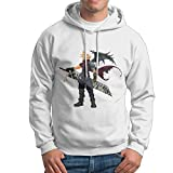 Man Boy Famouse Anime Final Fantasy VII Hooded Hoodies Sweatshirt