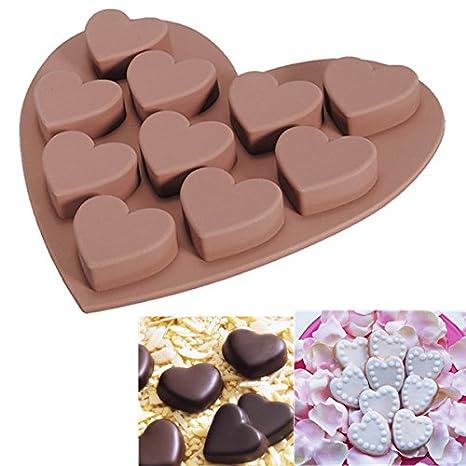 De Silicona Moldes Para Decorar Galletas Chocolate Amazon