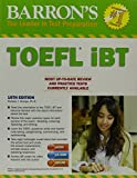 img - for Barron's TOEFL iBT with CD-ROM and MP3 audio CDs, 15th Edition book / textbook / text book
