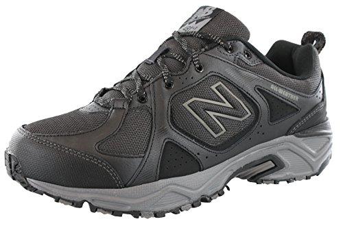- New Balance Men's 481V3 Water Resistant Cushioning Trail Running Shoe, Black/Grey, 10.5 4E US