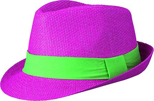 Myrtle Beach Cappello Estivo Streetwear con Larga Banda in Contrasto   Amazon.it  Abbigliamento 3bfa8c57e340