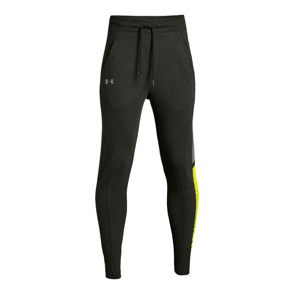 Under Armour Boys Rival Jogger, Artillery Green (357)/Moss Green, Youth X-Small by Under Armour