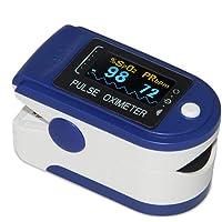 1Medische Pulsoximeter Zuurstofgehalte in Het Bloed Heart Rate Pulse Rate Monitor Met Draagkoord (CMS50D)