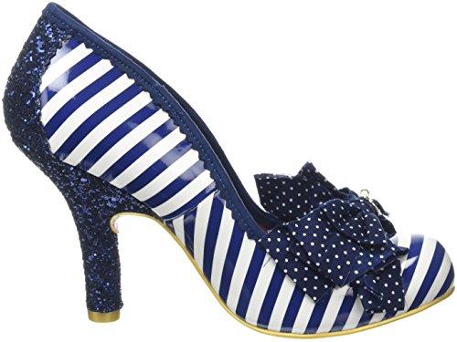 Fermé Choice Blue Irregular Noir Ascot Femme Bleu Escarpins White Bout d4nxIwHq