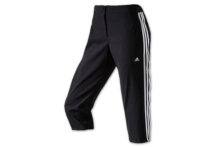 adidas Mujer Pantalones Capri Woven, Mujer, AB0047, Negro, 46 ...