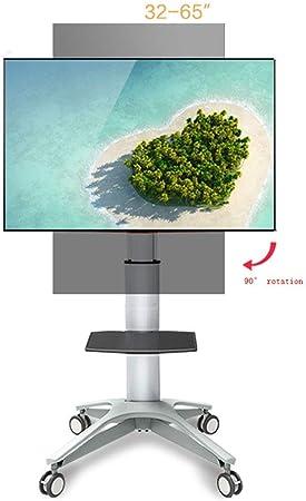 KBKG821 Carro Universal para TV, Soporte para televisor de 32-65 Pulgadas LCD Panel de TV Panel de rotación de 90 Grados: Amazon.es: Hogar