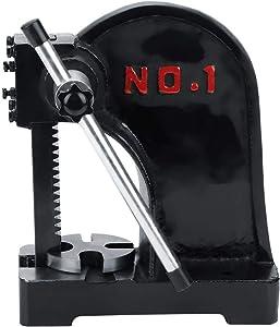 1 T Arbor Press, Manual Desktop Punch Press Machine Metal Arbor Press Tool