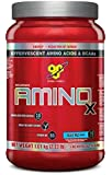 BSN AMINO X Endurance & Recovery Powder with 10 Grams of Aminos Per Serving, Flavor: Blue Raz, 70 Servings