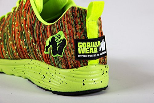 Gorilla Bära Brooklyn Stickade Sneakers - Neon Mix