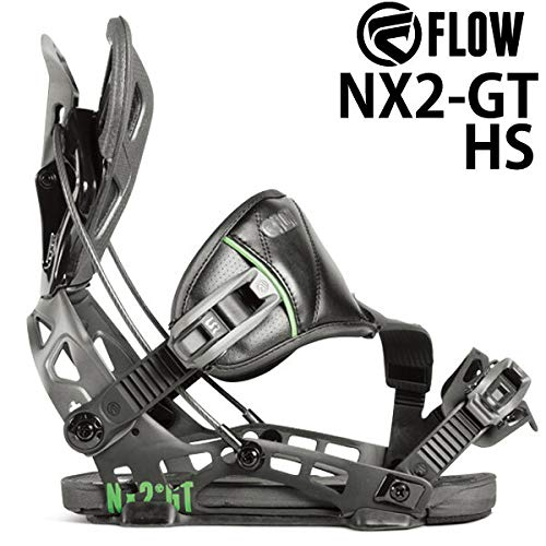 18-19흐름 FLOW NX2-GT HS 엔 빅스 맨 즈 레이디스 바인딩 바인딩 스노우보드 2019 L (25.5 ~ 29.5 cm) BLACK / 18-19 FLOW NX2-GT HS NX Men`s Women`s Binding Binding Snowboard 2019 L(25.5-29.5cm) BLACK