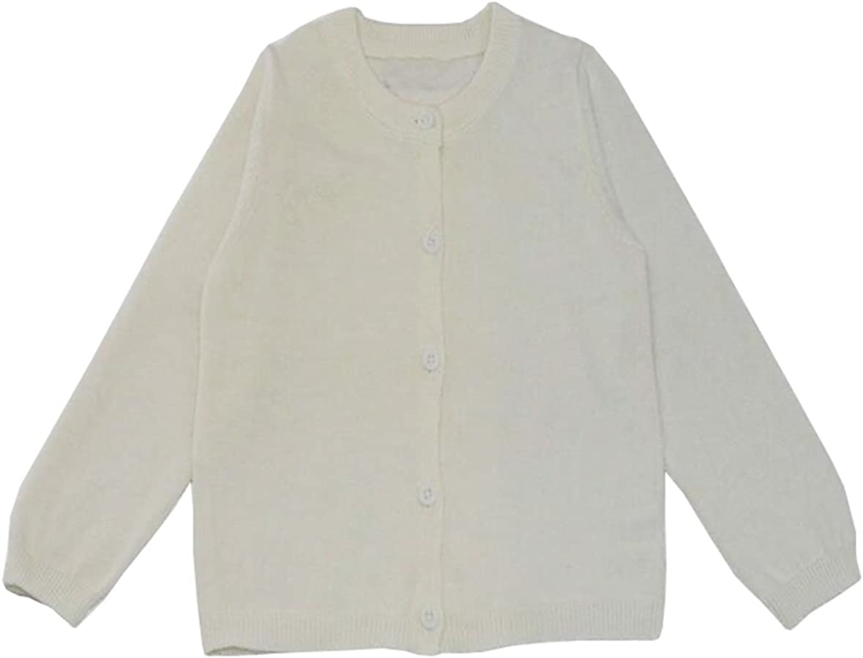 TAIYCYXGAN Baby Toddler Boys Girls Cardigan Sweaters Unisex Kids Knit Sweater Jacket for School Uniform Skirt Dress