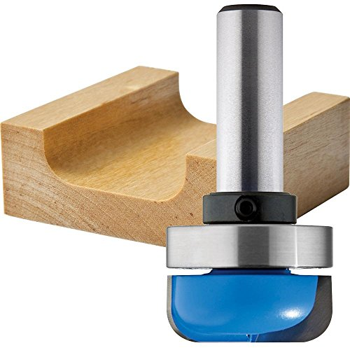 1-1/4 in Dish Carving Router Bit (Tip Tray 1/2')