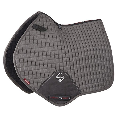 Used, Le Mieux ProSport Suede Close Contact Square Grey Large for sale  Delivered anywhere in USA