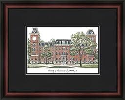NCAA Arkansas Razorbacks Academic Framed Lithograph
