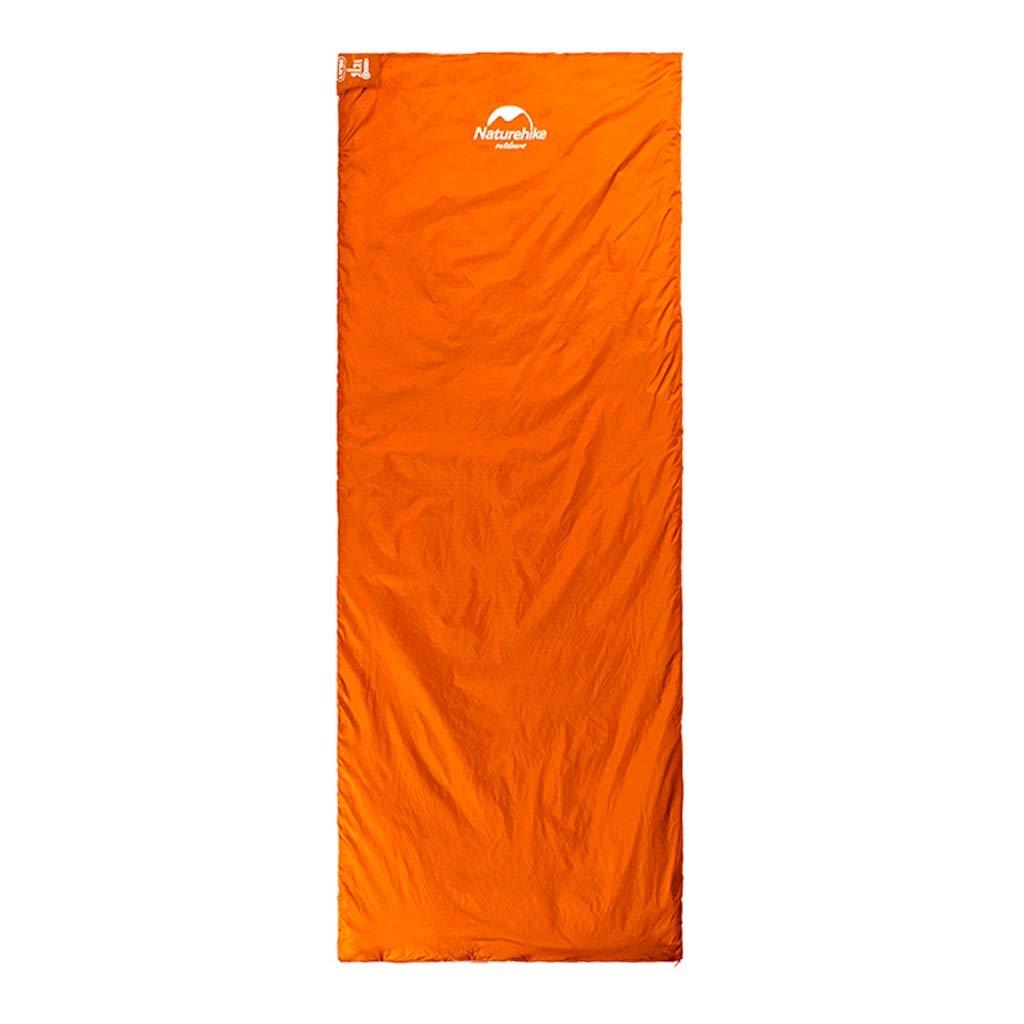 防汚寝袋屋外大人超軽量個々のテントシーズン4キャンプ (色 : ワインレッド, サイズ さいず : 205X85CM) B07Q5QVDQY Orange 190X75CM 190X75CM|Orange
