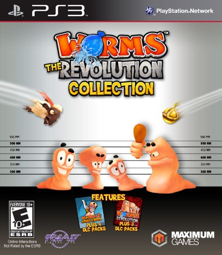 Worms Revolution Collection PlayStation 3 PS3 product image