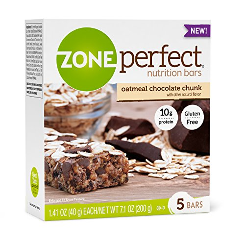 ZonePerfect Nutrition Bars, Oatmeal Chocolate Chunk, 30 Count (Eas Sports Nutrition)