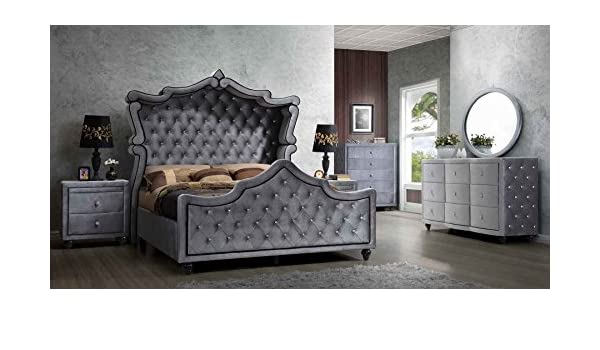 Amazon Com Hudson Canopy Bedroom Set 6 Pc Queen Size Bed 2 Night