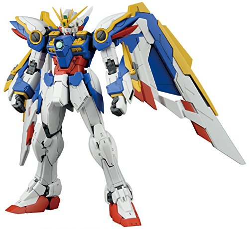 Bandai Hobby RG 1/144 #20 Wing Gundam Ver EW Gundam Wing Action Figure (1 Speed Wing)