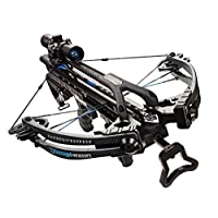 Carbon Express Intercept Axon LT Crossbow Kit (Rope Cocker, 3 Arrow Quiver, 3 Crossbolts, Rail Lubricant, 3 Practice Points, 4x32 Deluxe Lighted Scope), (NEW 2015 Model)
