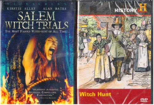 Salem Witch Trials the Movie Starring Kirstie Alley , the History Channel Witch Hunt the True Story of the Salem Witch Trials : 2 Pack Collectors Set ()