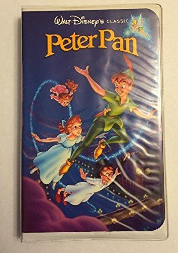 Walt Disney's Peter Pan RARE Black Diamond Classic (VHS Tape) -