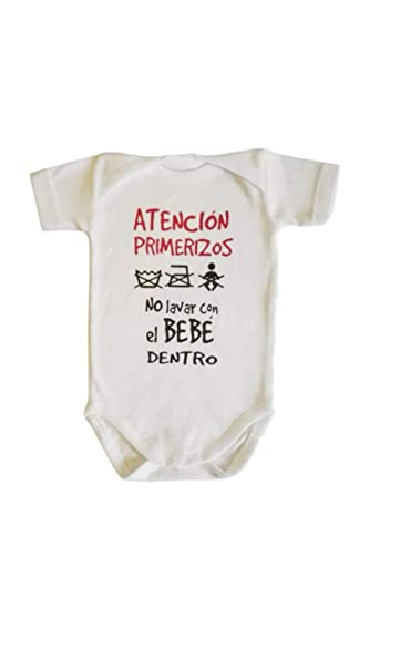 Mi Body Bebe Frase Atencion Primerizos No Lavar Con El Bebé Dentro Regalo Bebe Regalo Recien Nacido Regalo Padres Primerizos