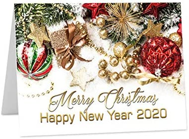 3 or 1 3D Christmas Card 160 x 160 mm gift greeting new year UK