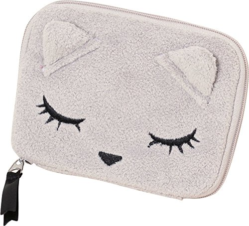 Addict cat pouch osumashi Winnie the Pooh baby Pooh-Chan mirror and small boxes with tissue case grey - Pooh Mirror