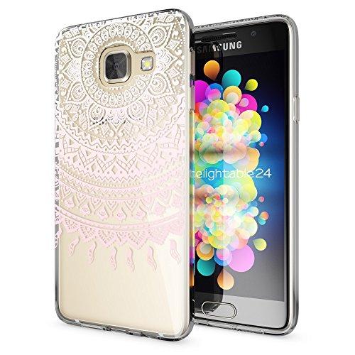 Slim Shockproof Case for Samsung Galaxy A5 (Pink) - 2