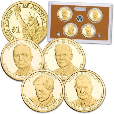 (2015 S United States Mint Presidential $1 Coin Proof Set)